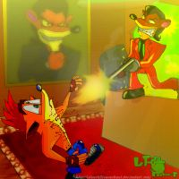 Trash Bandicoot 2 by LeTourbillonEnchanT
