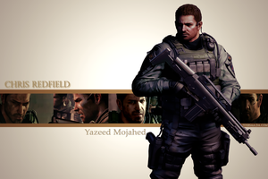 Chris Redfield for Yazeed by JillValentinexBSAA