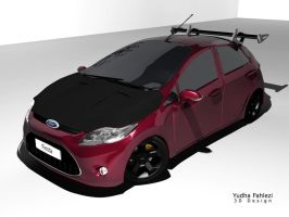 Ford Fiesta by Fahlezi
