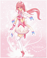 Ninfia ~ Pokemon Humanizated ~ Gijinka by AmeNoHana