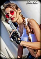 Tomb Raider III South Pacific - Gun by FuinurCroft
