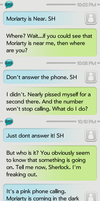 Don't answer the phone - SMS by dacoolcat