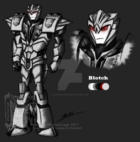 Transformers:Prime Blotch by Z-KarmaCage