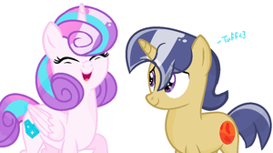 NG: Cousins (Flurry Heart and Lunar Eclipse) by xXTuff-PegasisterXx