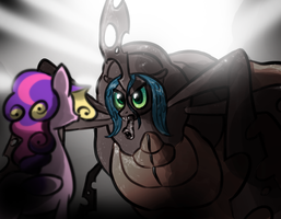 Chrysallis Queen by WillDrawForFood1