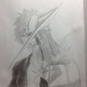 Ichigo, practice with reference. by Swordaive