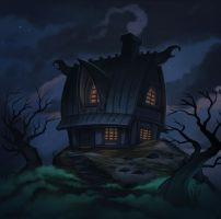 A little northen house by Amanda-Kihlstrom