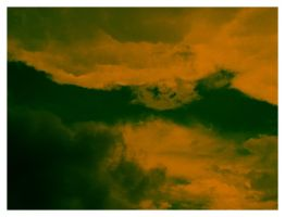 orange clouds by chericola