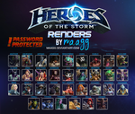 [PACK] Heroes of the Storm - RENDERS by maagg