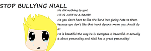 Stop bullying Niall Horan READ DESCRIPTION by PrincetonsMonster