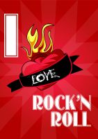 I love rock and roll by Felipefr