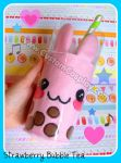 Bunny bubble tea plushie by The-Cute-Storm