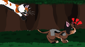 Training RP with Relicpaw and Branchpaw!!! by GiggleKittyx3