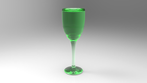Green Goblet1 by Tate27kh
