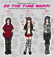 time warp meme lmfao by chibiveechan
