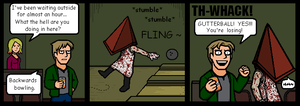 Silly Hill 2 strip 12 by Yamallow