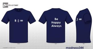 Original Quotes Be Happy Always by madnezz344