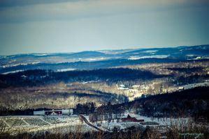 An Icy View of Pennsylvania by SharpPhotoStudio