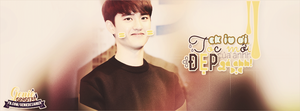 20141107. Kyungsoo Quote - my husband's new hair by GenieDesigner