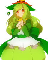 Lilligant Personate (Girl)_140123 by Matchagreen