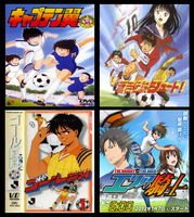 Top 4 of Anime Soccer Series by 3D4D