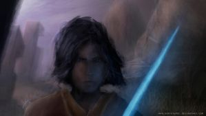 Ezra Bridger by DarthTemoc