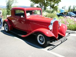 Little Red 1932 Plymouth coupe by RoadTripDog