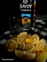 Tequila with lemon by nikinik666