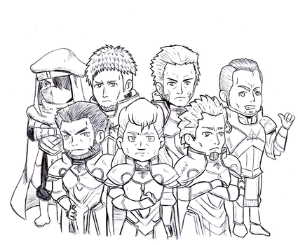 (Request) Seazas and his Rigelian general squad by TioTonyRedgrave