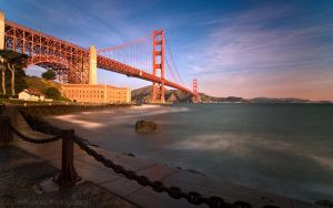 Golden Gate Bridge Morning by MattGranzPhotography