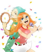 singing with him by RubyHong