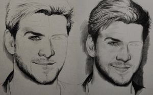Liam Hemsworth - work in progress - by JuliaFox90