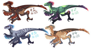 RAPTOR ADOPTABLES OPEN! by LiLaiRa