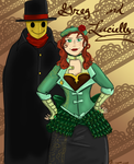 Lucielle and Greg- CPT-Blackridge by Cynthetic-art