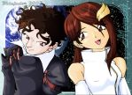 Kimi and Dernel - Gundam Seed by bidujador