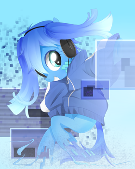 Pony ene by PoisonicPen