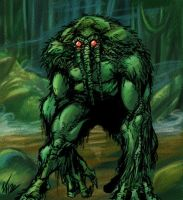 Man Thing by BaneNascent