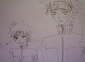 Naruto sketch 2 by rrs