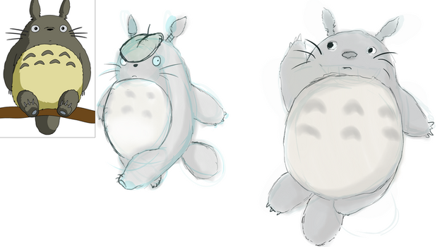 Totoro for week 3 by MightyNugget