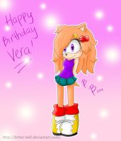 Happy Birthday Vera by biTTer-beLL