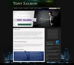 Tony Salmon Personal Page v1 by crazydevila