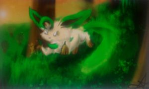 Leafeon's forest by Deepluver2