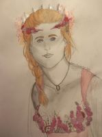 Titania - Sketch by SquigglyButterfly