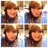 Anna makeup test by Labyrinthinwyrm