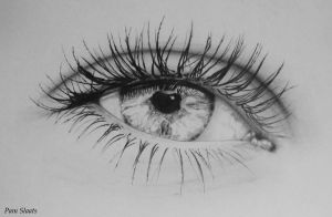 My sisters' eye by pamslaats