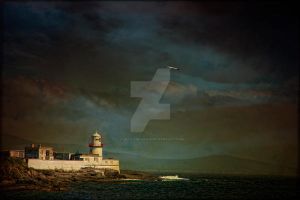 Valentia Island Lighthouse by Flash-and-Flair