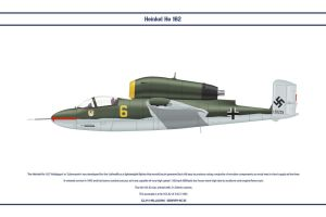 He 162 JG1 6 by WS-Clave