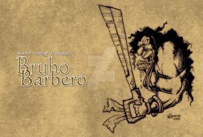 Bruho Barbero quick and dirty sketch by Dinuguan