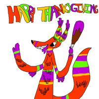 Happy Thankgiving with TQBF by rainbowpaint15