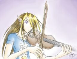 Violin by Tyshea